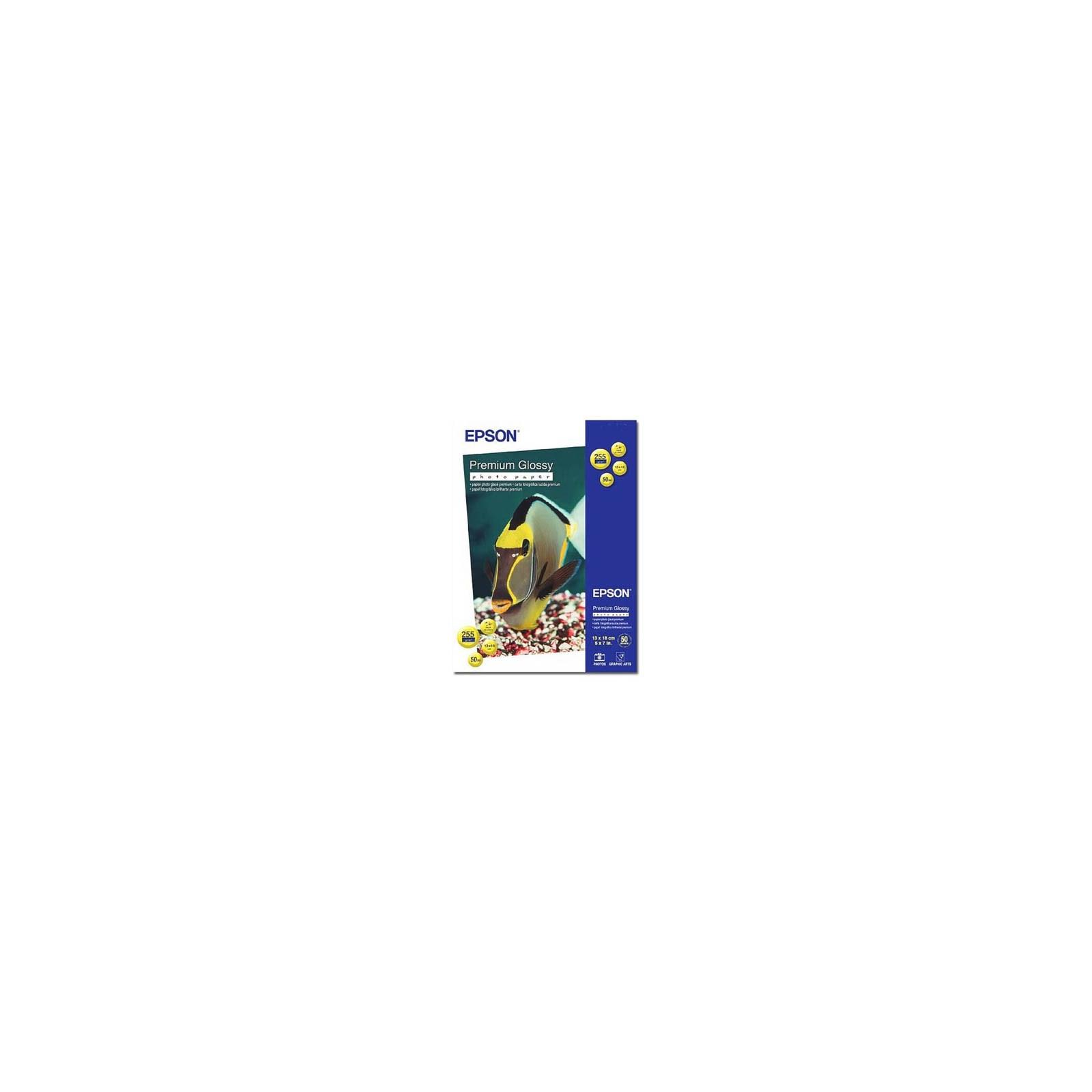 Бумага EPSON 13x18 Premium gloss Photo (C13S041875)