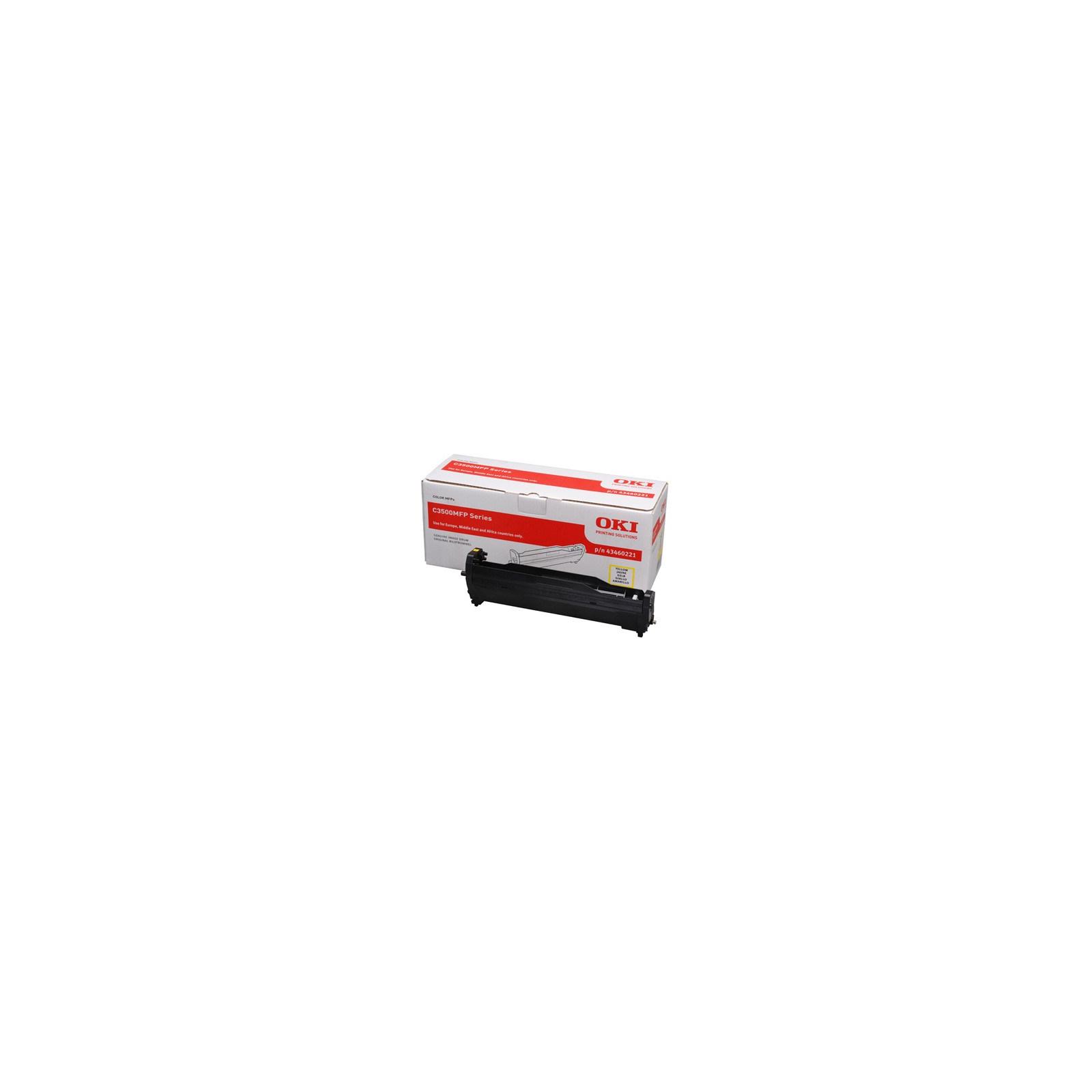 Фотокондуктор OKI C3520MFP/3530MFP/MC350/360 Yellow (43460221)