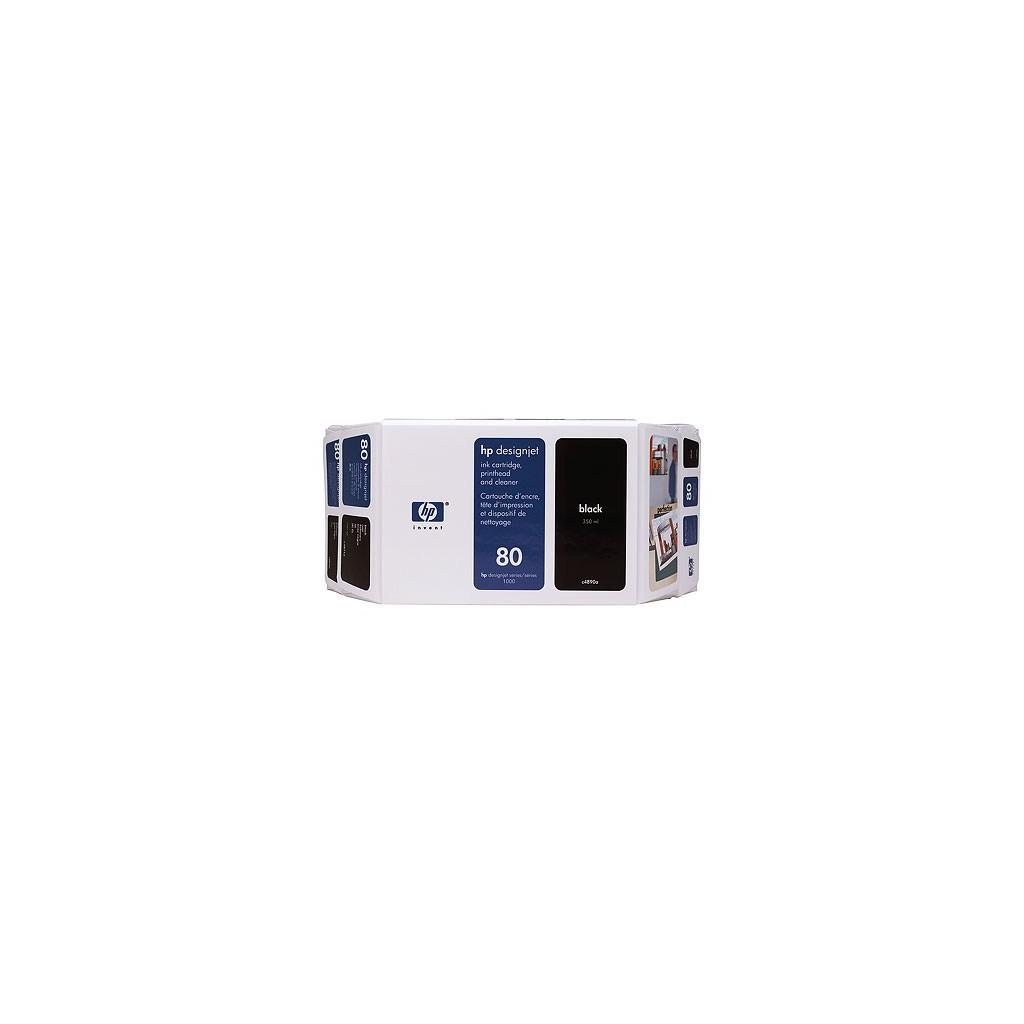 Картридж HP DJ No. 80 DJ1050C/1055CM Black (C4871A)