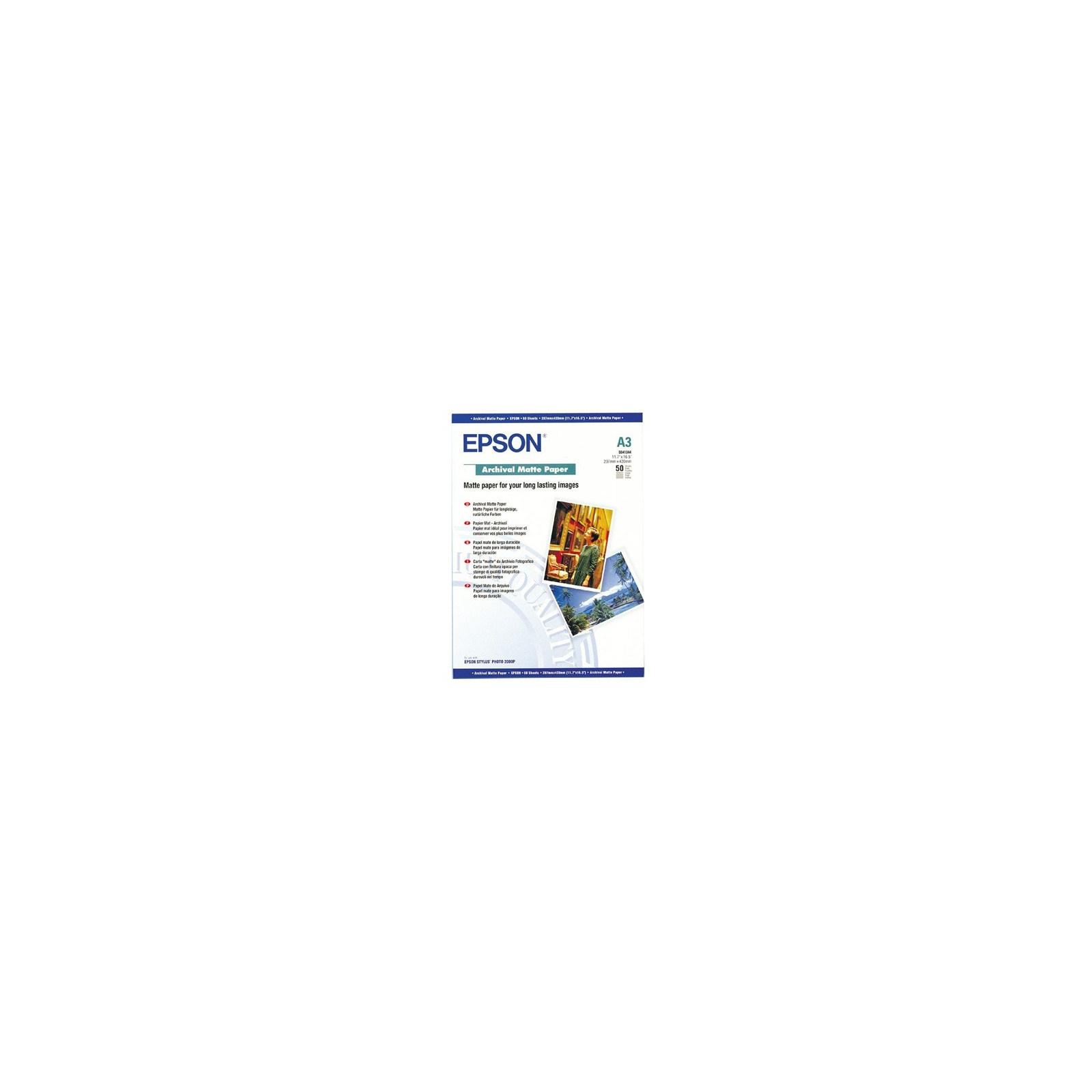 Бумага EPSON A3 Archival Matte Paper (C13S041344)