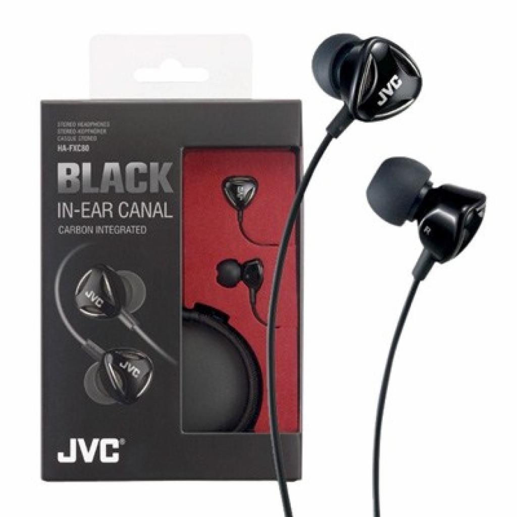Наушники JVC Black Series HA-FXC80 (HA-FXC80-E)