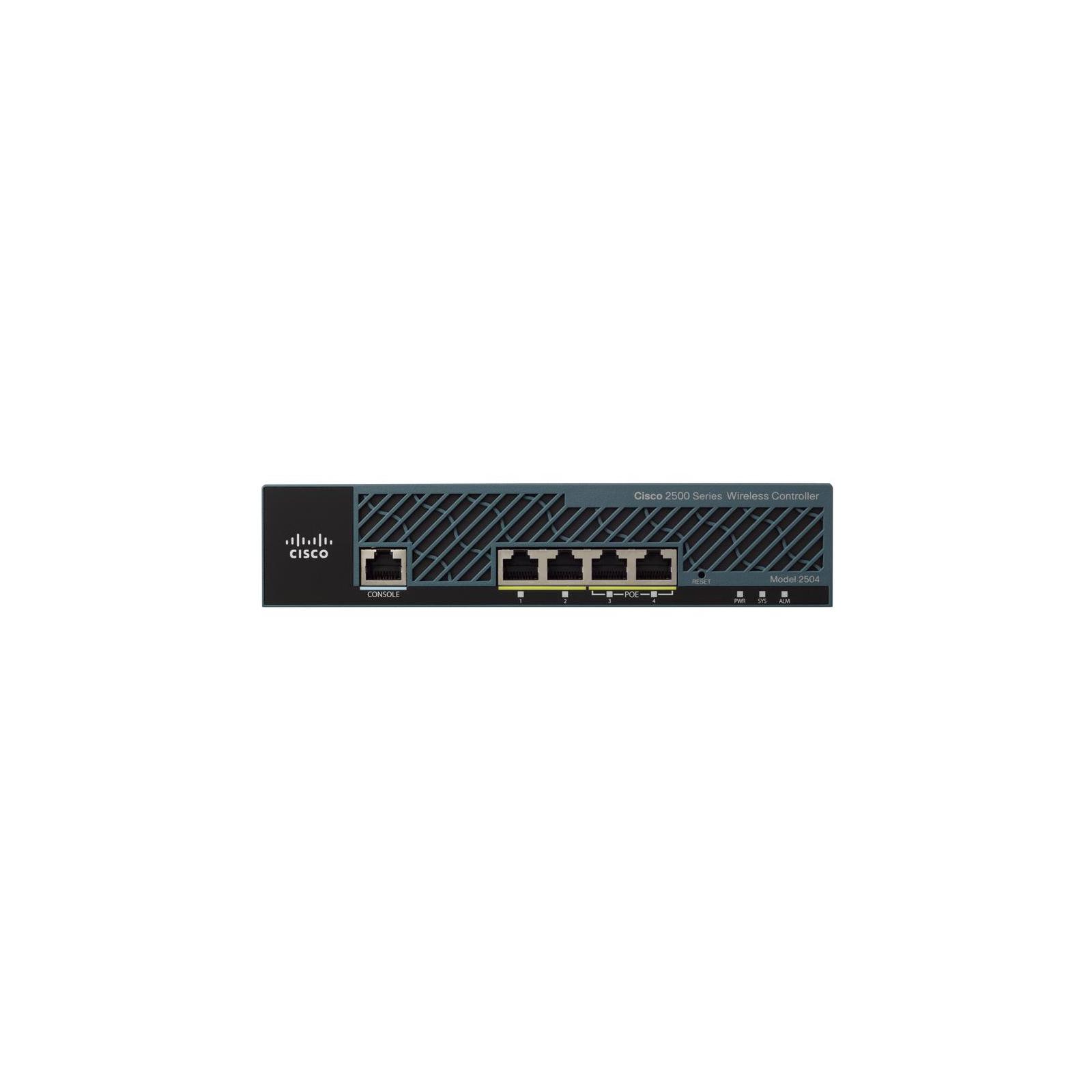 Контроллер доступа Cisco AIR-CT2504-15 (AIR-CT2504-15-K9) изображение 2