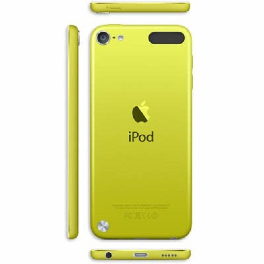 mp3 плеер Apple iPod Touch 5Gen 32GB Yellow (MD714RP/A) изображение 2