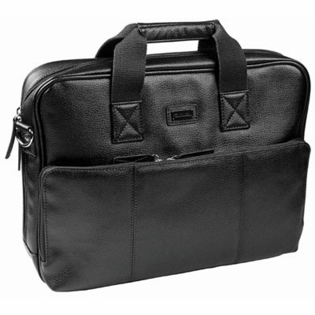 """Сумка для ноутбука Krusell 16"""" Ystad Laptop Bag black (71266)"""
