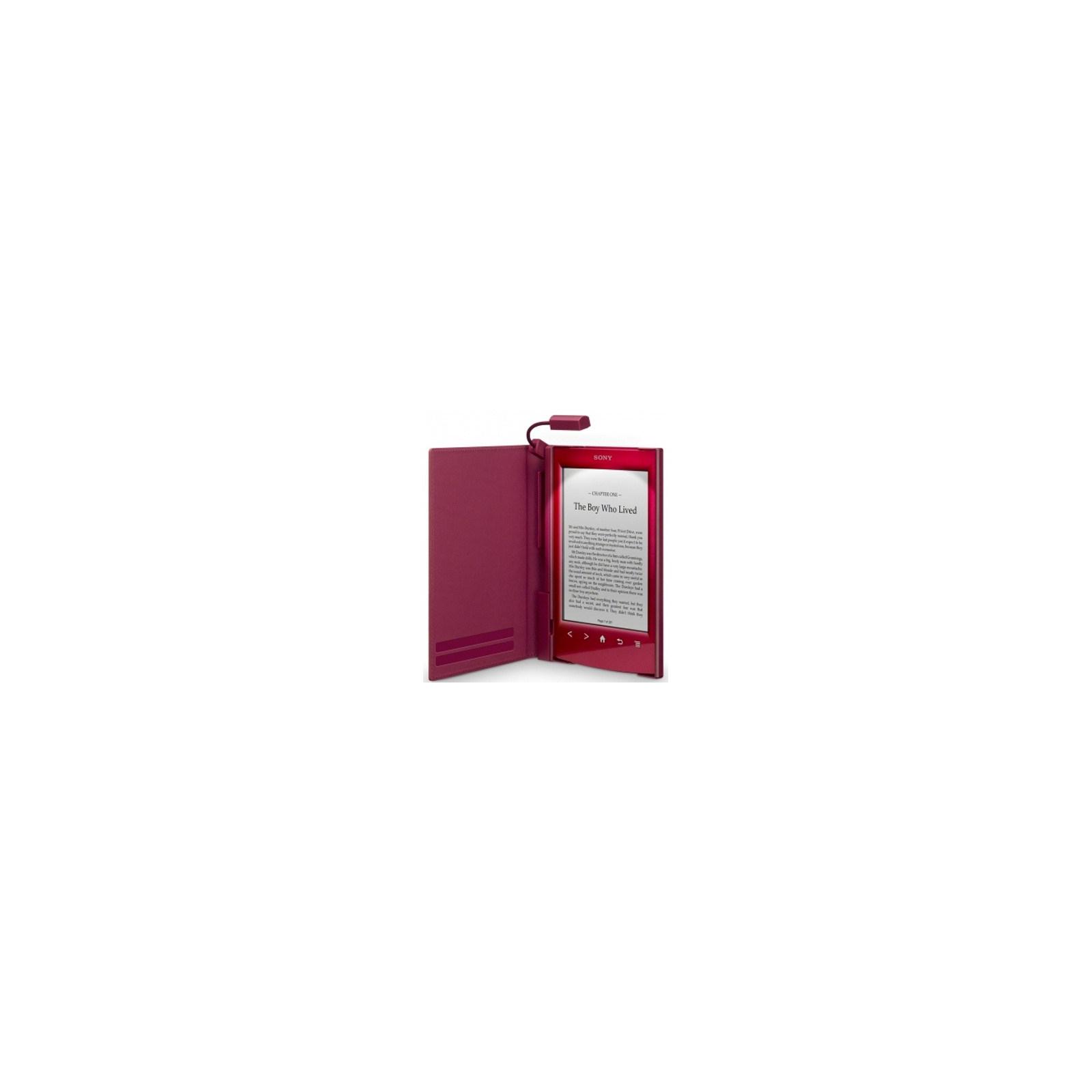 Чехол для электронной книги SONY CL22R red для PRS-T2 (PRSACL22R.WW2) изображение 2