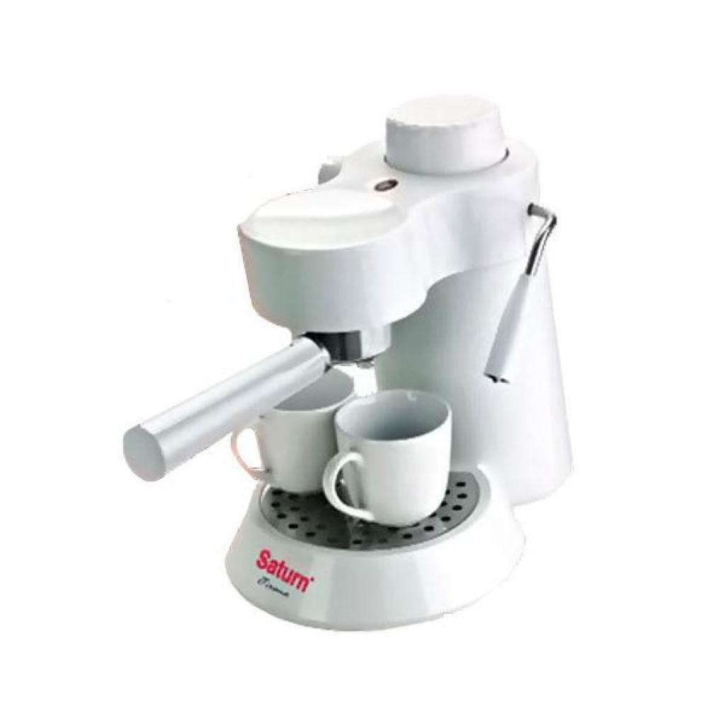 Кофеварка SATURN ST-CM7086 white