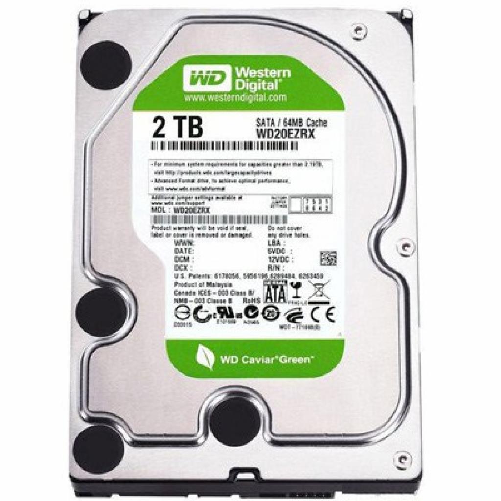"Жесткий диск 3.5"" 2TB Western Digital (WD20EURX)"