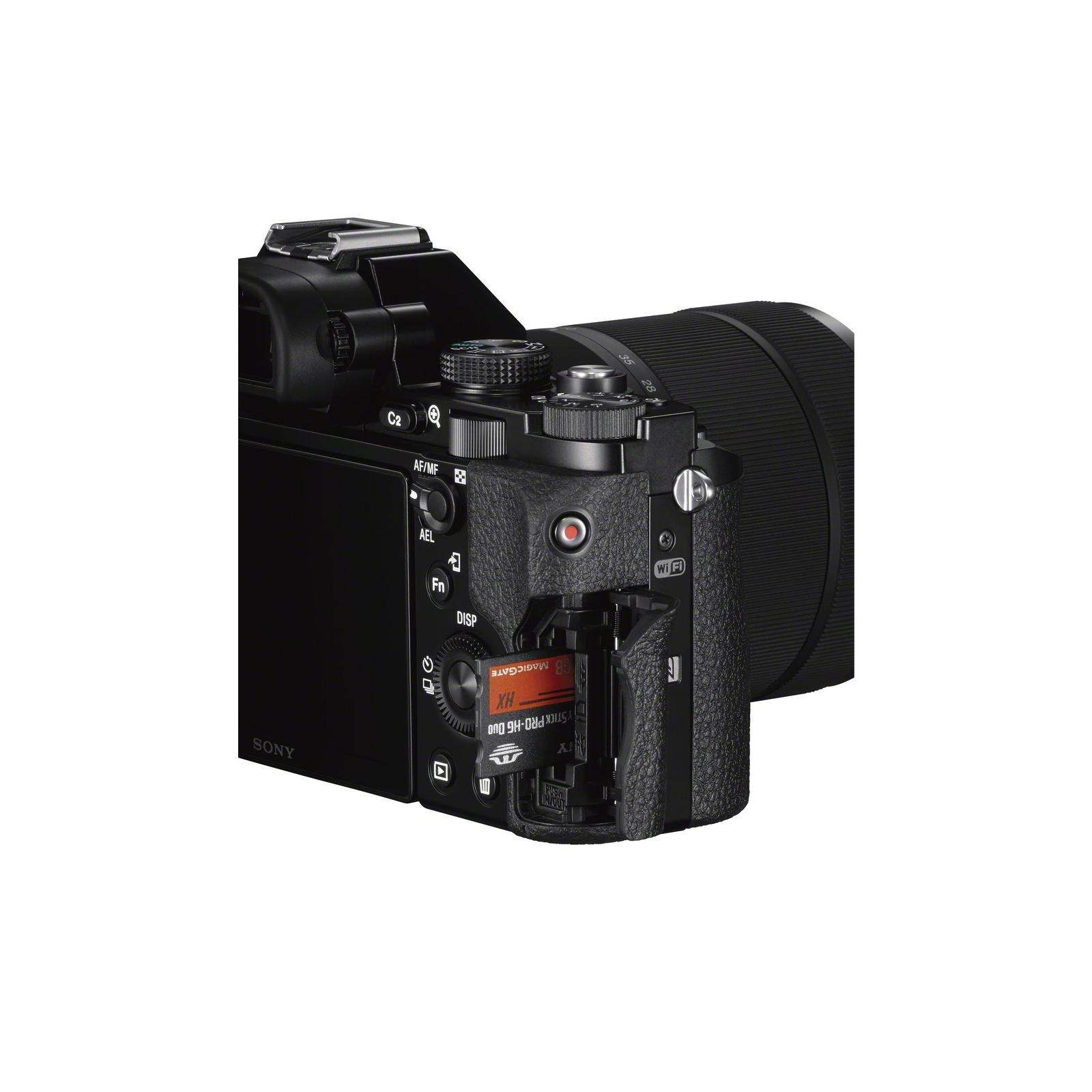 Цифровой фотоаппарат SONY Alpha 7 28-70 kit black (ILCE7KB.RU2) изображение 9