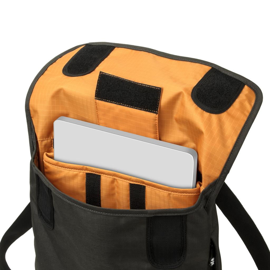 Рюкзак для ноутбука Crumpler 13 Private Surprise Backpack M charcoal/orange (PSBP-M-004) изображение 2