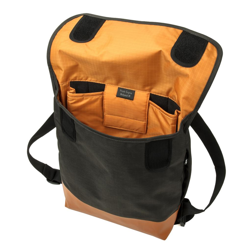 Рюкзак для ноутбука Crumpler 13 Private Surprise Backpack M charcoal/orange (PSBP-M-004) изображение 3