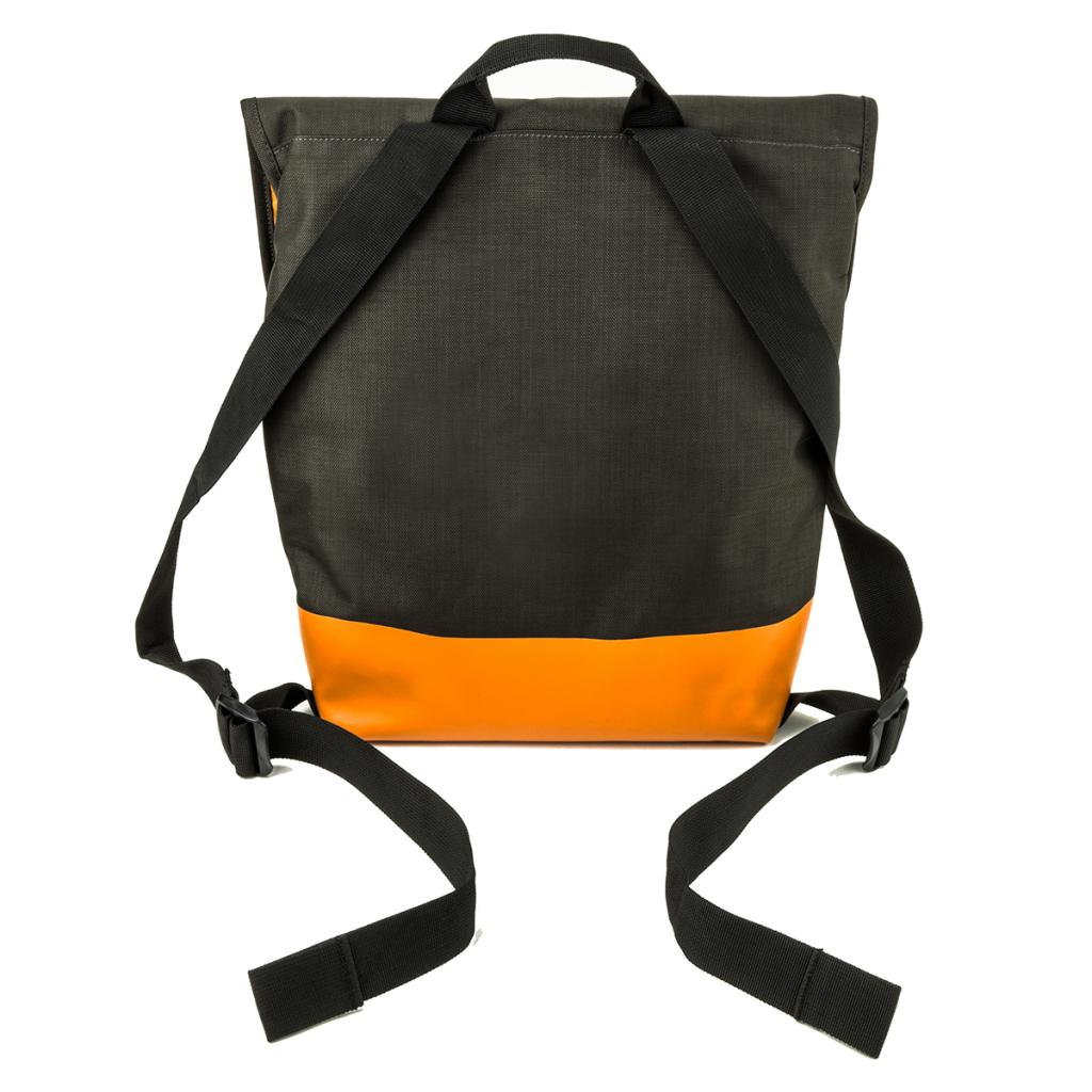 Рюкзак для ноутбука Crumpler 13 Private Surprise Backpack M charcoal/orange (PSBP-M-004) изображение 5