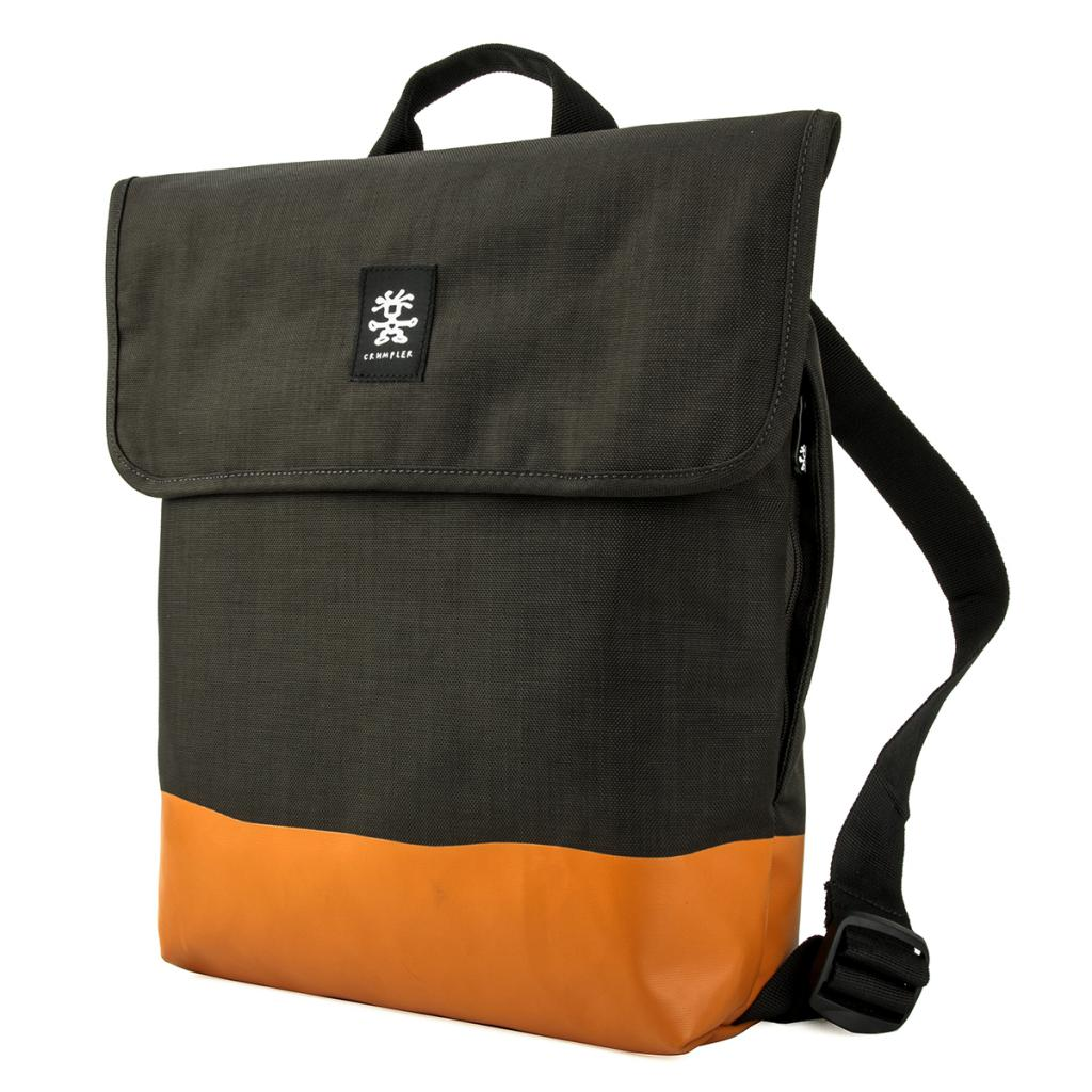 Рюкзак для ноутбука Crumpler 13 Private Surprise Backpack M charcoal/orange (PSBP-M-004)