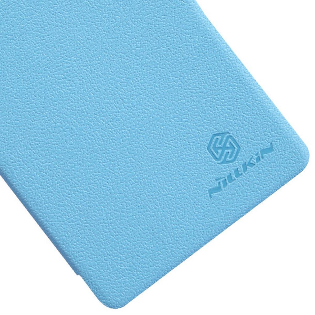 Чехол для моб. телефона NILLKIN для Lenovo K910 /Fresh/ Leather/Blue (6120378) изображение 5