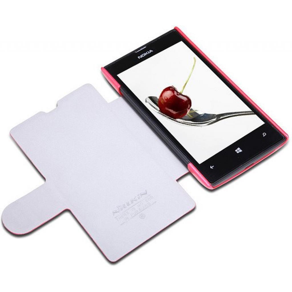 Чехол для моб. телефона NILLKIN для Nokia 520 /Fresh/ Leather/Red (6065689) изображение 2