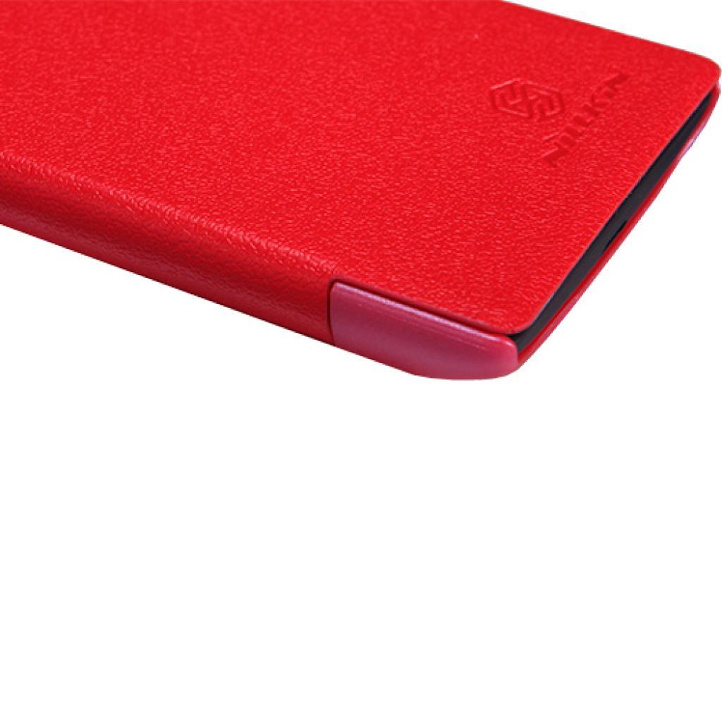 Чехол для моб. телефона NILLKIN для Nokia 520 /Fresh/ Leather/Red (6065689) изображение 4