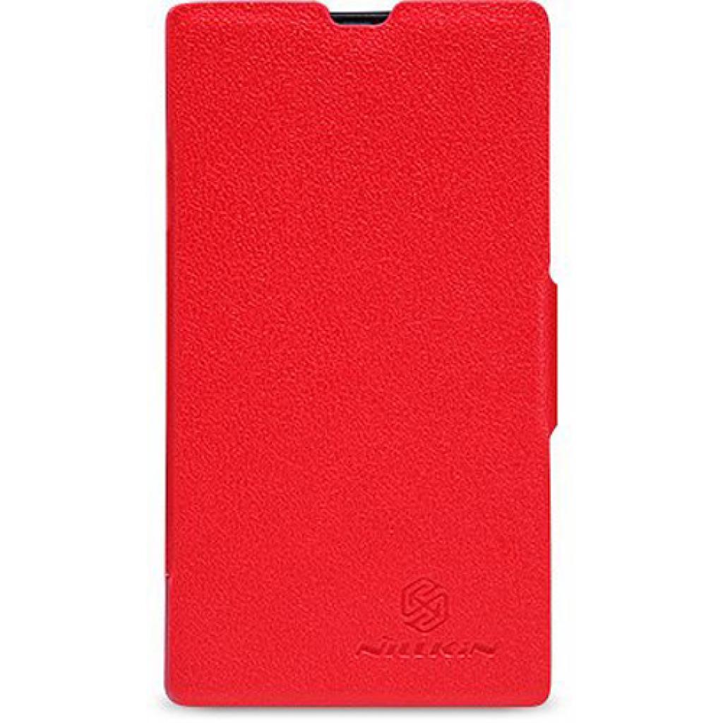 Чехол для моб. телефона NILLKIN для Nokia 520 /Fresh/ Leather/Red (6065689)