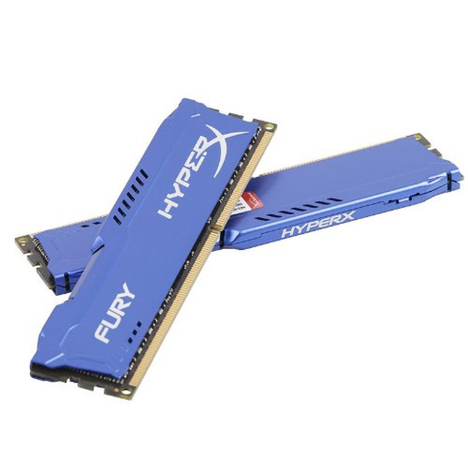 Модуль памяти для компьютера DDR3 16Gb (2x8GB) 1600 MHz HyperX Fury Fury Blu Kingston (HX316C10FK2/16) изображение 4