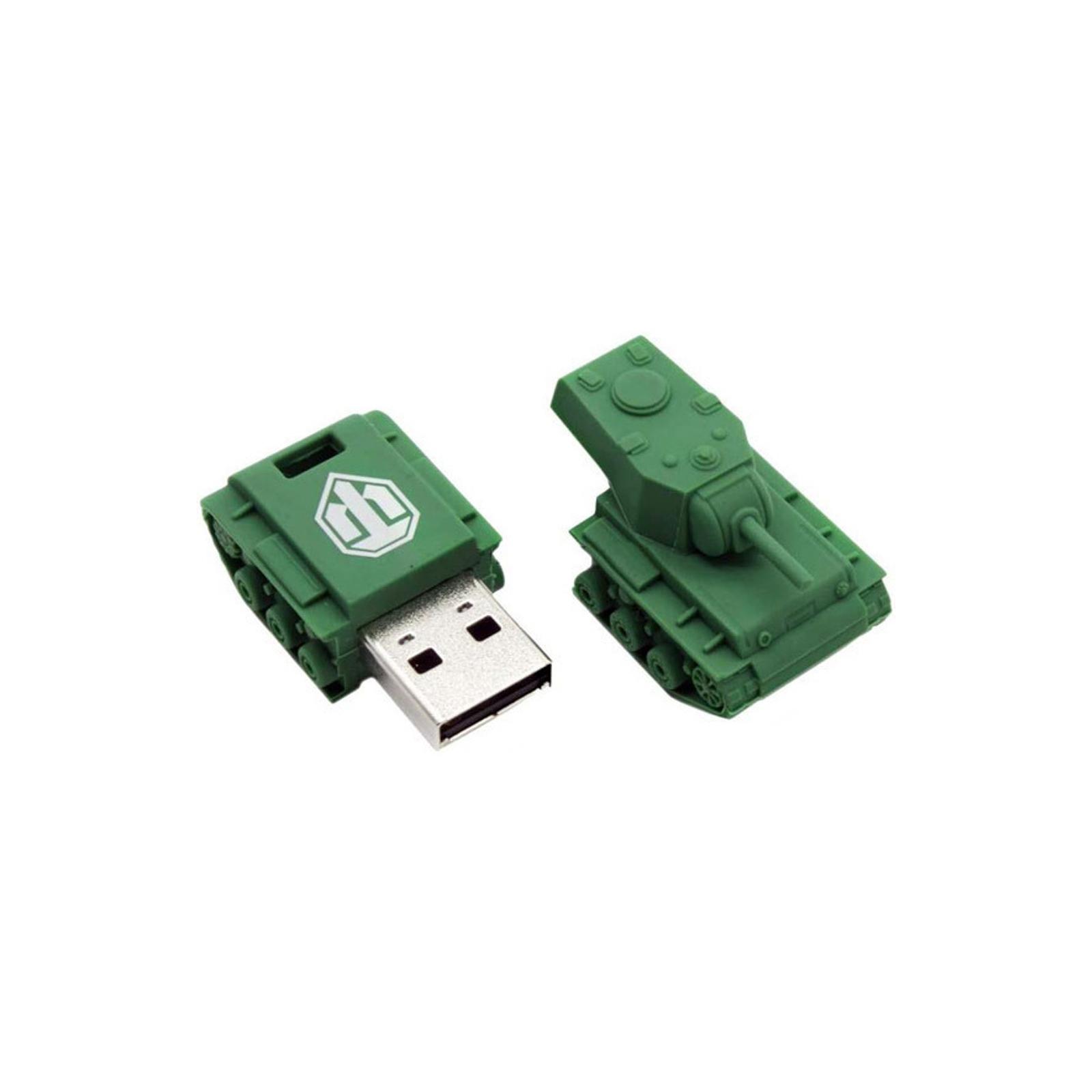 USB флеш накопитель Kingston 16 GB Custom Rubber Tank (DT-TANK/16GB) изображение 3
