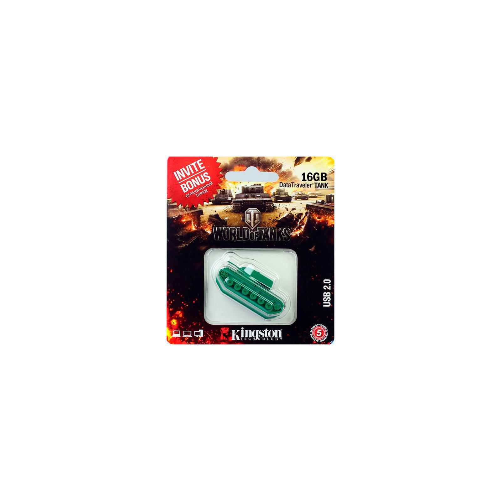 USB флеш накопитель Kingston 16 GB Custom Rubber Tank (DT-TANK/16GB)