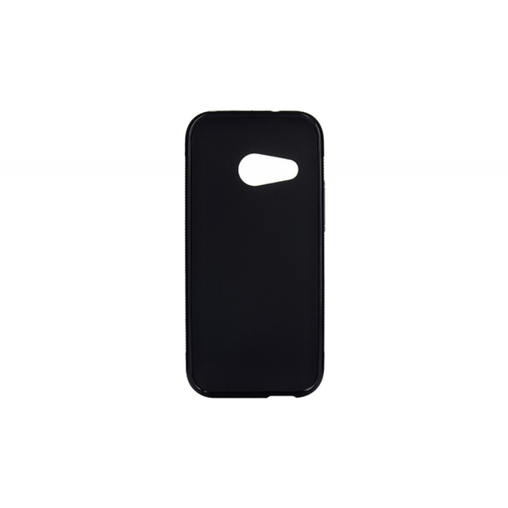 Чехол для моб. телефона Drobak для HTC One M8 Mini Black /Elastic PU (218892) изображение 2