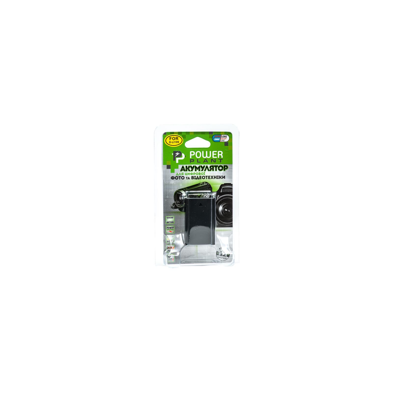 Аккумулятор к фото/видео PowerPlant Pentax D-Li109 (DV00DV1283) изображение 3