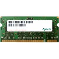 Модуль памяти для ноутбука SoDIMM DDR2 2GB 800 MHz Apacer (AS02GE800C6NBGC)