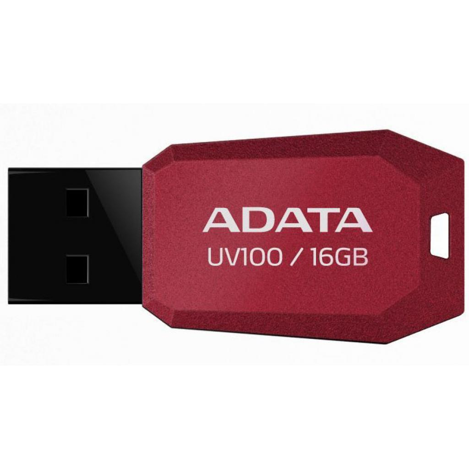 USB флеш накопитель ADATA 32GB DashDrive UV100 Red USB 2.0 (AUV100-32G-RRD)