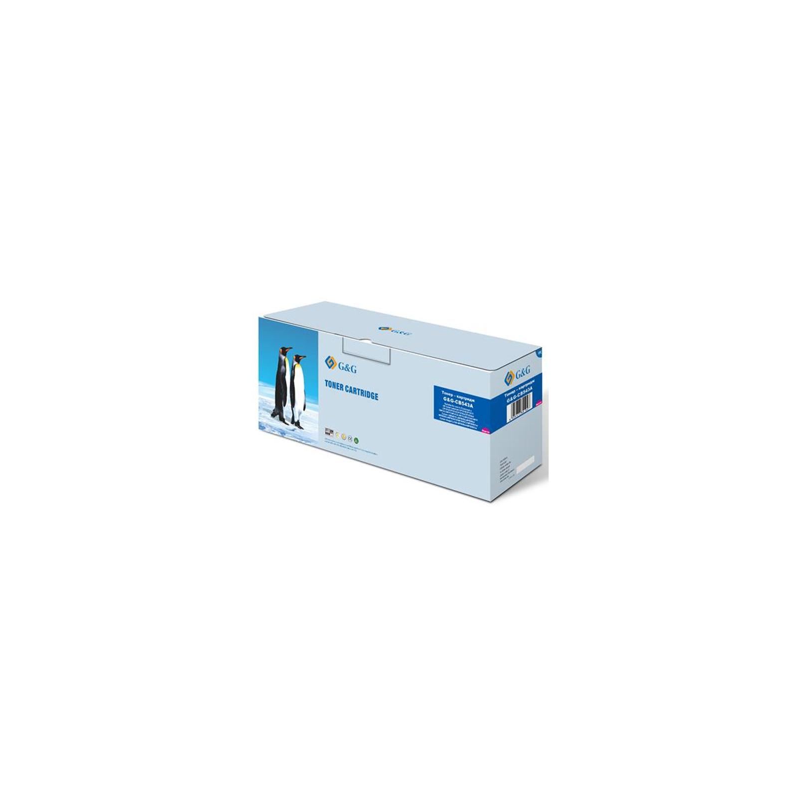 Картридж G&G для HP Color LJ CP1215/CP1510/Canon 716 Magenta (G&G-CB543A)
