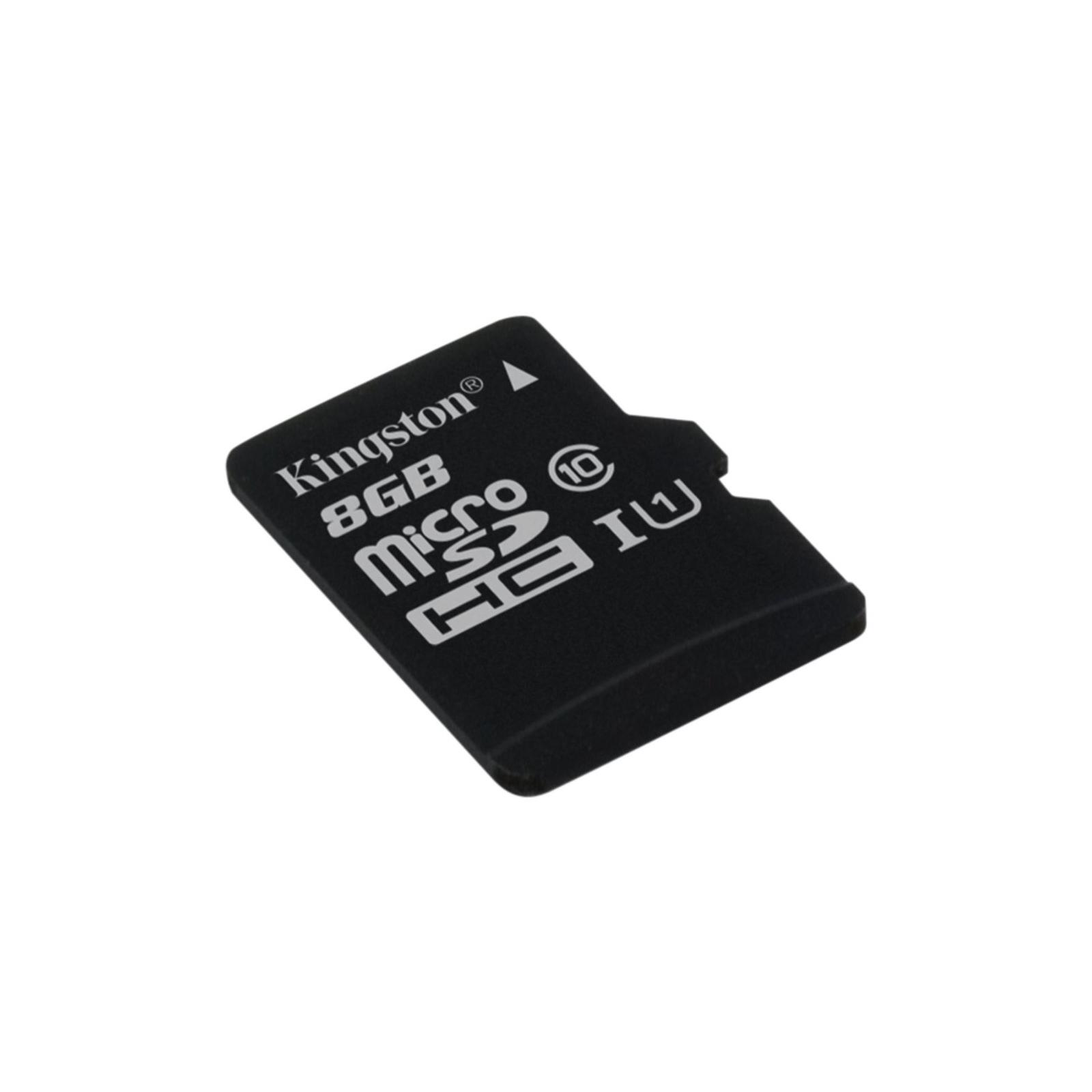 Карта памяти Kingston 8GB microSDXC Class 10 UHS-I (SDC10G2/8GBSP) изображение 2