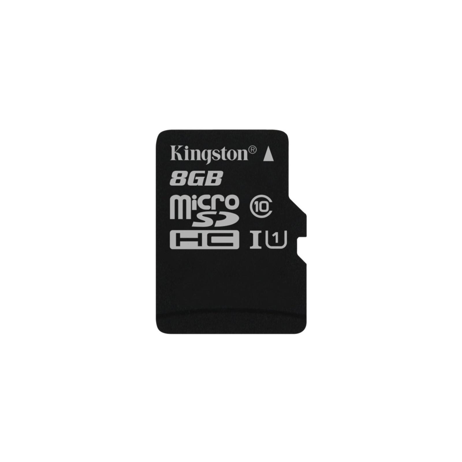 Карта памяти Kingston 8GB microSDXC Class 10 UHS-I (SDC10G2/8GBSP)