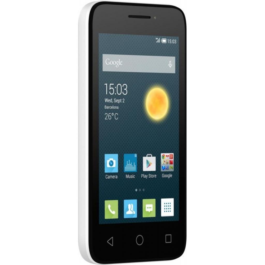 Мобильный телефон ALCATEL ONETOUCH 4013D PIXI 3 (4) White (4894461292984) изображение 8