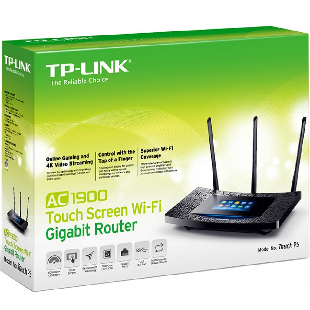 Маршрутизатор TP-Link Touch P5 изображение 5