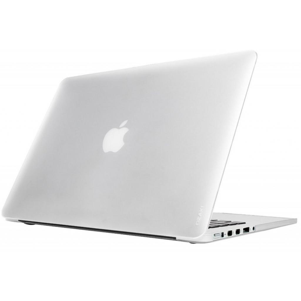 """Чехол для ноутбука OZAKI O!macworm TightSuit MacBook Pro 15"""" Retina Transparent (OA404TR) изображение 3"""
