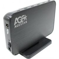 Карман зовнішній AgeStar 3UB3A8-6G (Black)