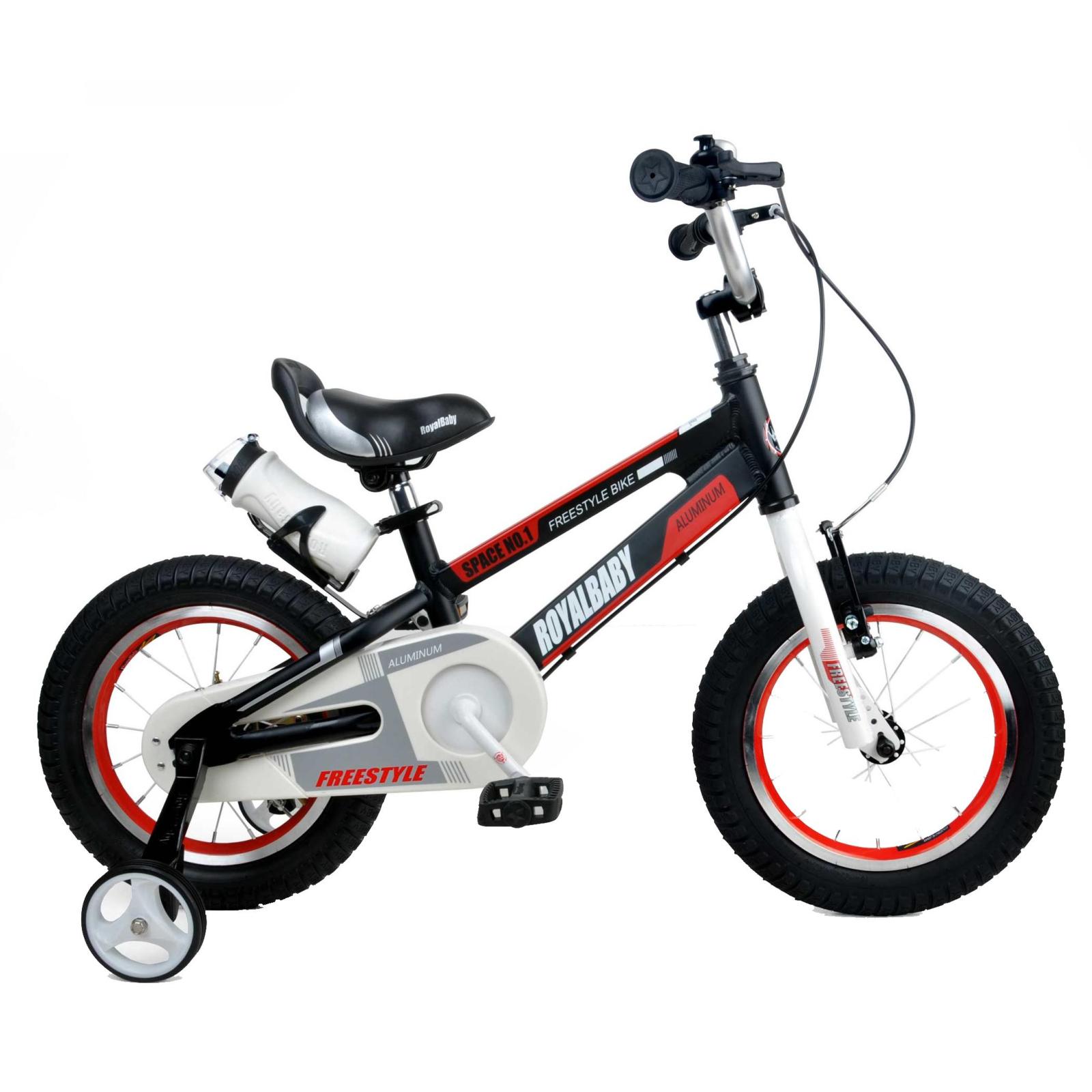 """Детский велосипед Royal Baby SPACE NO.1 Alu 14"""", черный (RB14-17-BLK)"""