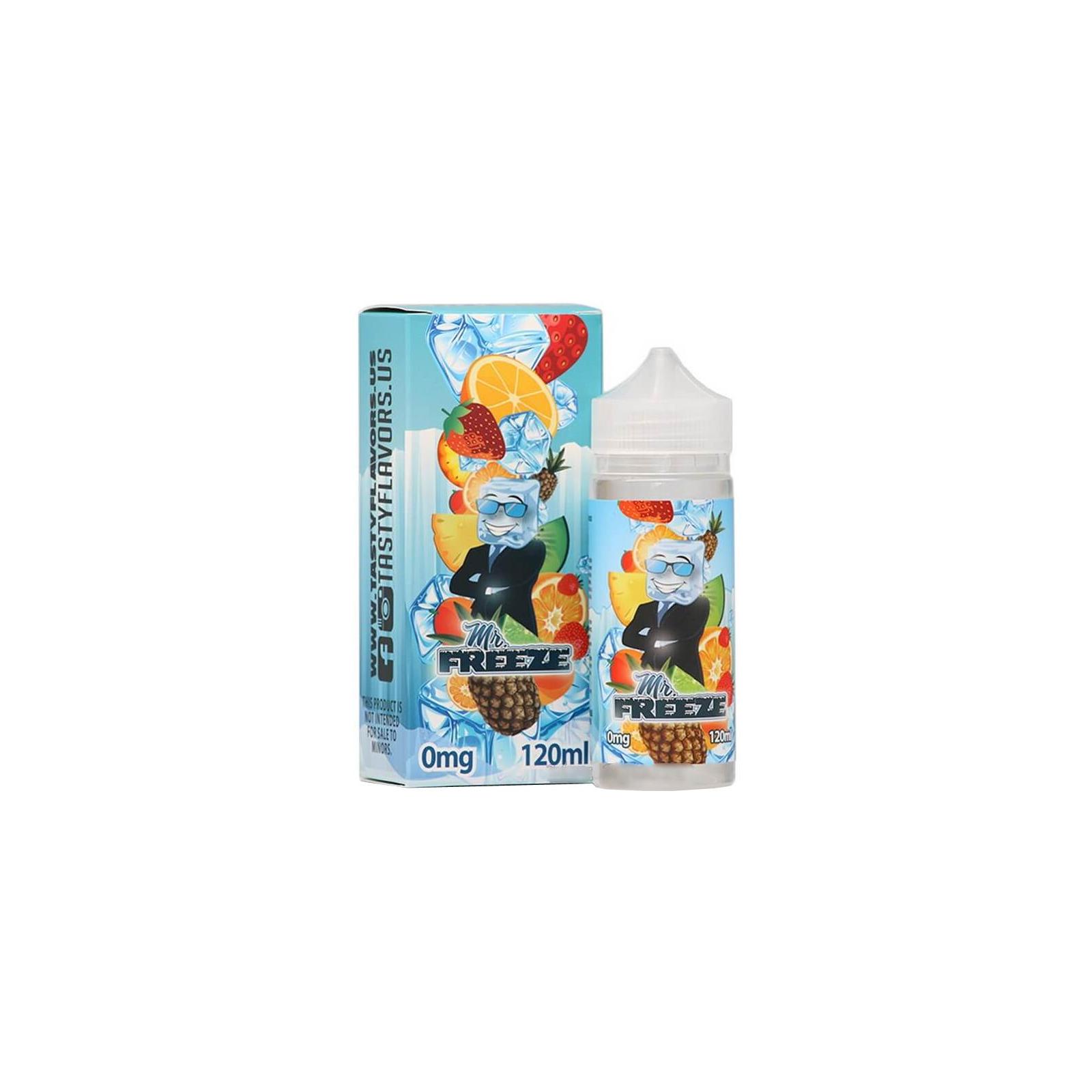 "Жидкость для электронных сигарет Tasty Flavors ""Mr. Freeze"" 0 мг 120 мл (TF-FR-0)"