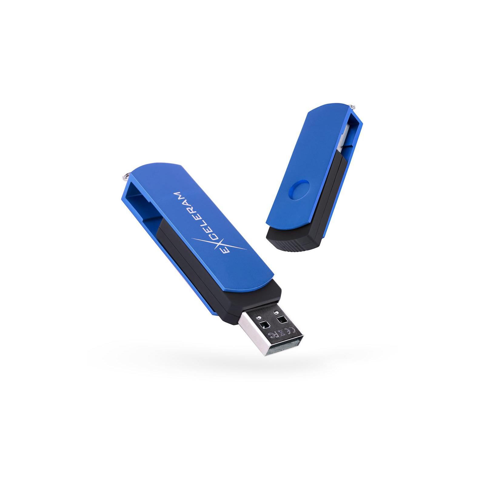USB флеш накопитель eXceleram 32GB P2 Series Blue/Black USB 3.1 Gen 1 (EXP2U3BLB32)