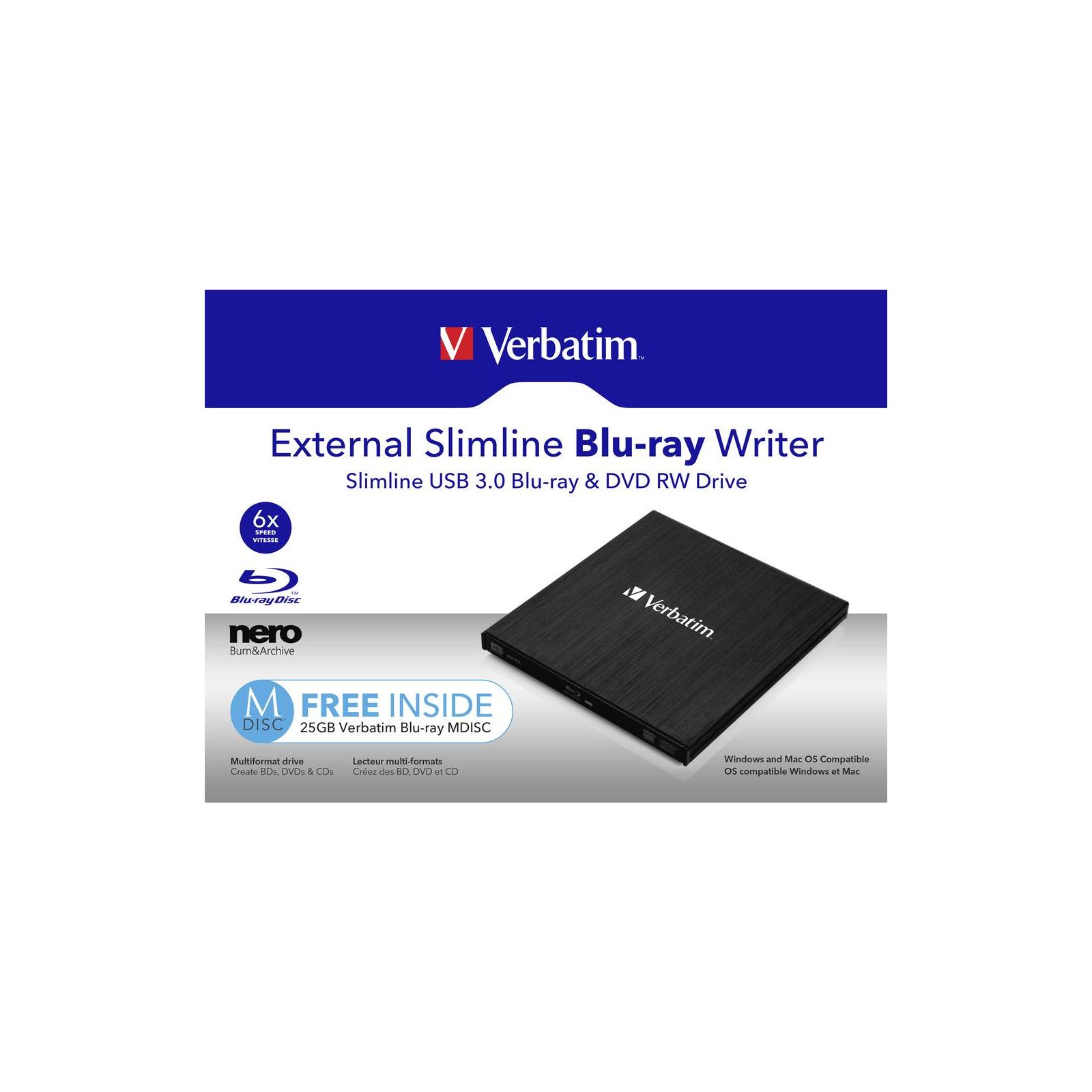 Оптический привод DVD-RW Verbatim 43890 изображение 5