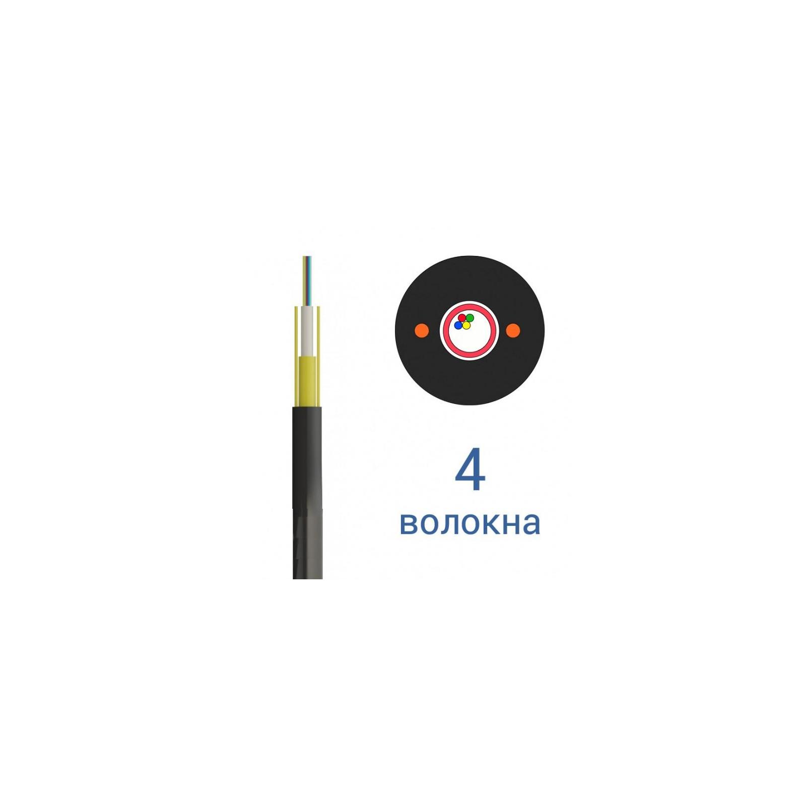 Кабель Одескабель ОКТ-Д(1,0)П-4Е1-0,36Ф3,5/0,22Н18-4, 4 волокна, 1м (ОКТ-Д(1,0)П-4Е1)