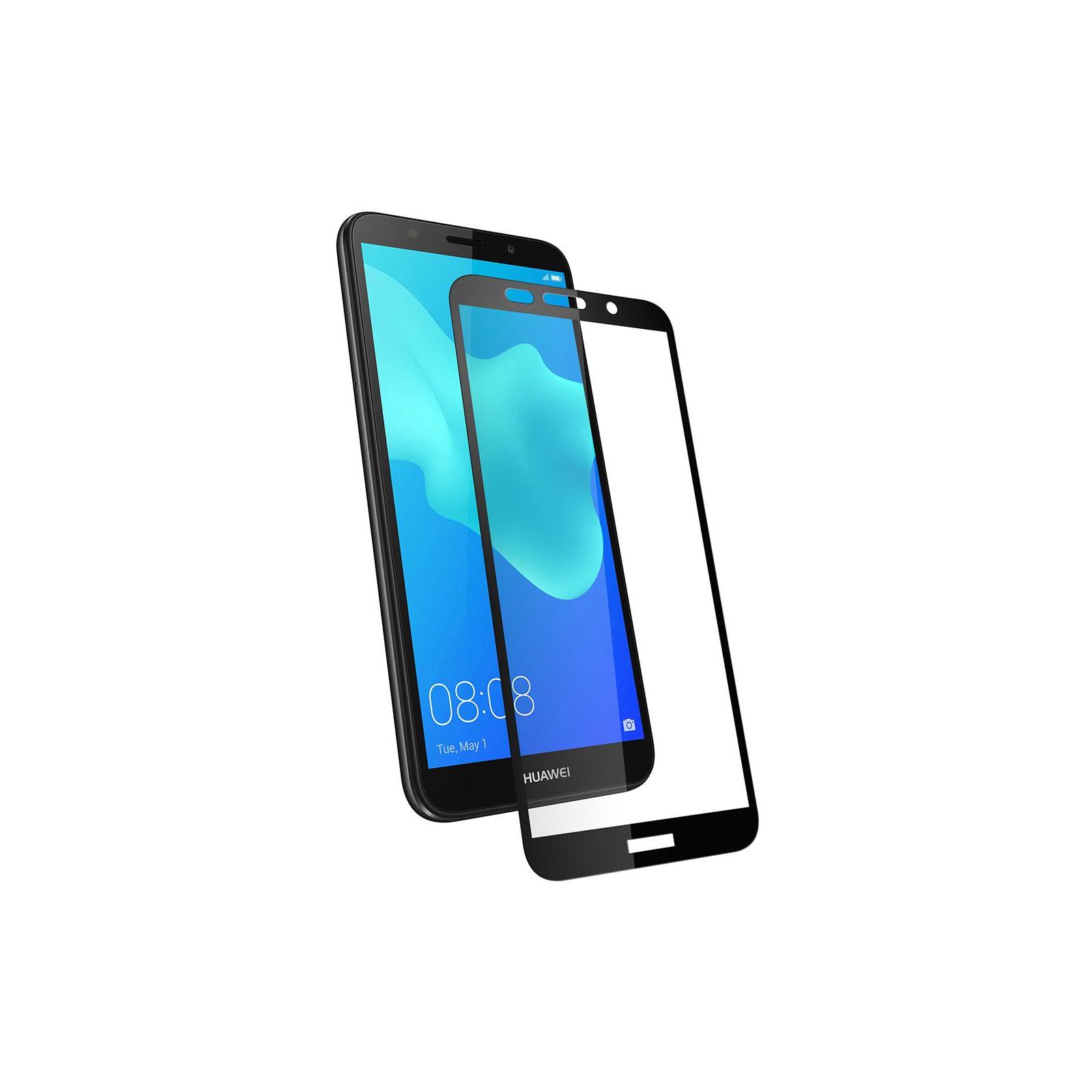Стекло защитное Vinga для Huawei Y5 2018 (Black) (VTPGS-Y52018) изображение 3