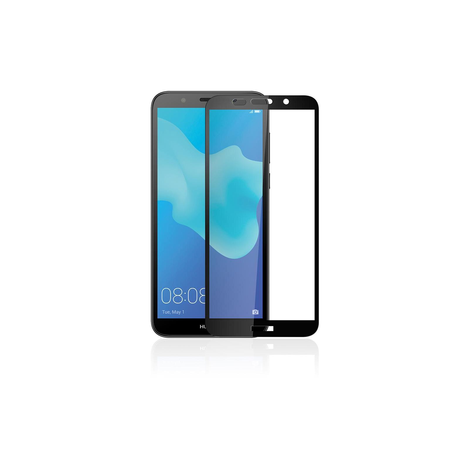 Стекло защитное Vinga для Huawei Y5 2018 (Black) (VTPGS-Y52018) изображение 4
