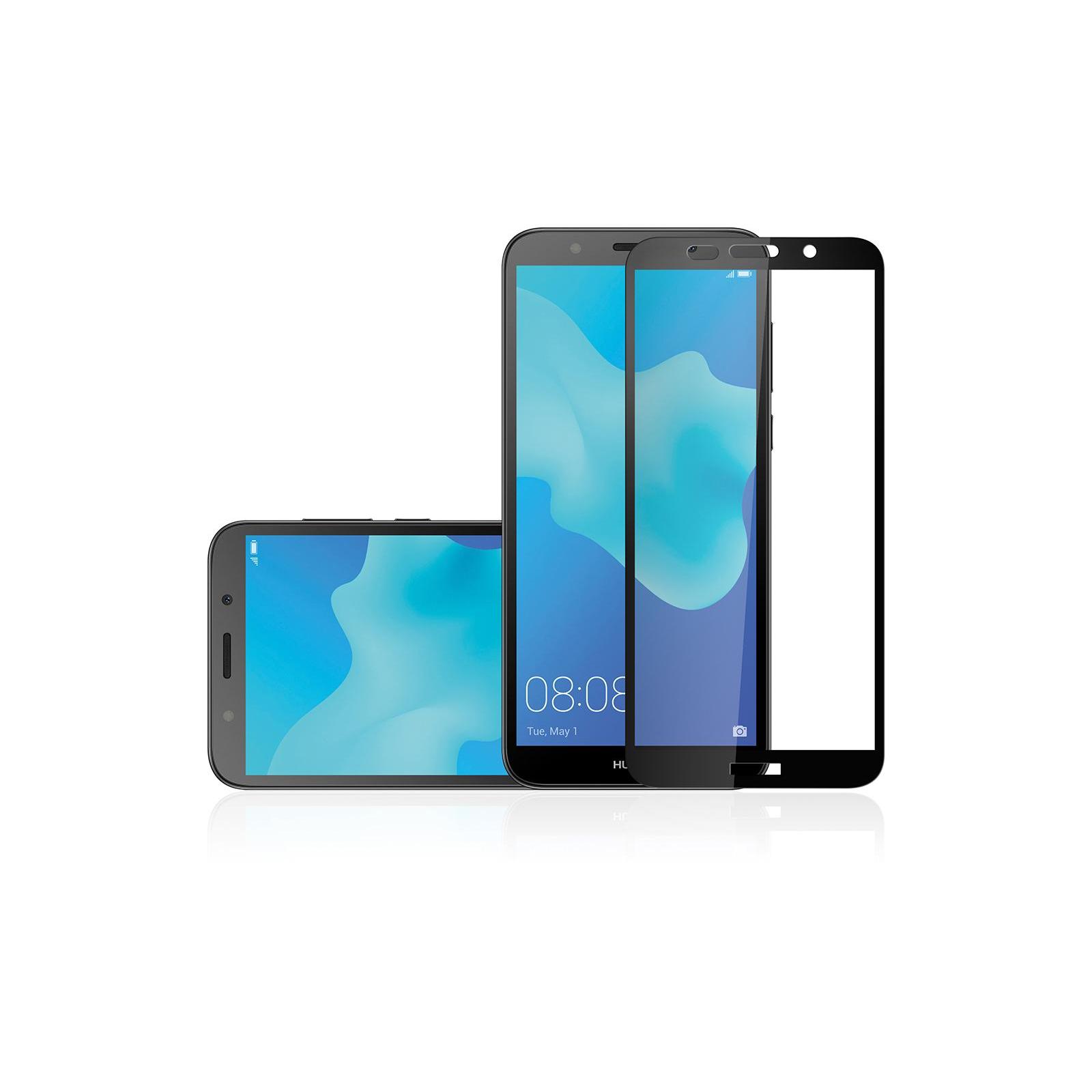 Стекло защитное Vinga для Huawei Y5 2018 (Black) (VTPGS-Y52018) изображение 5