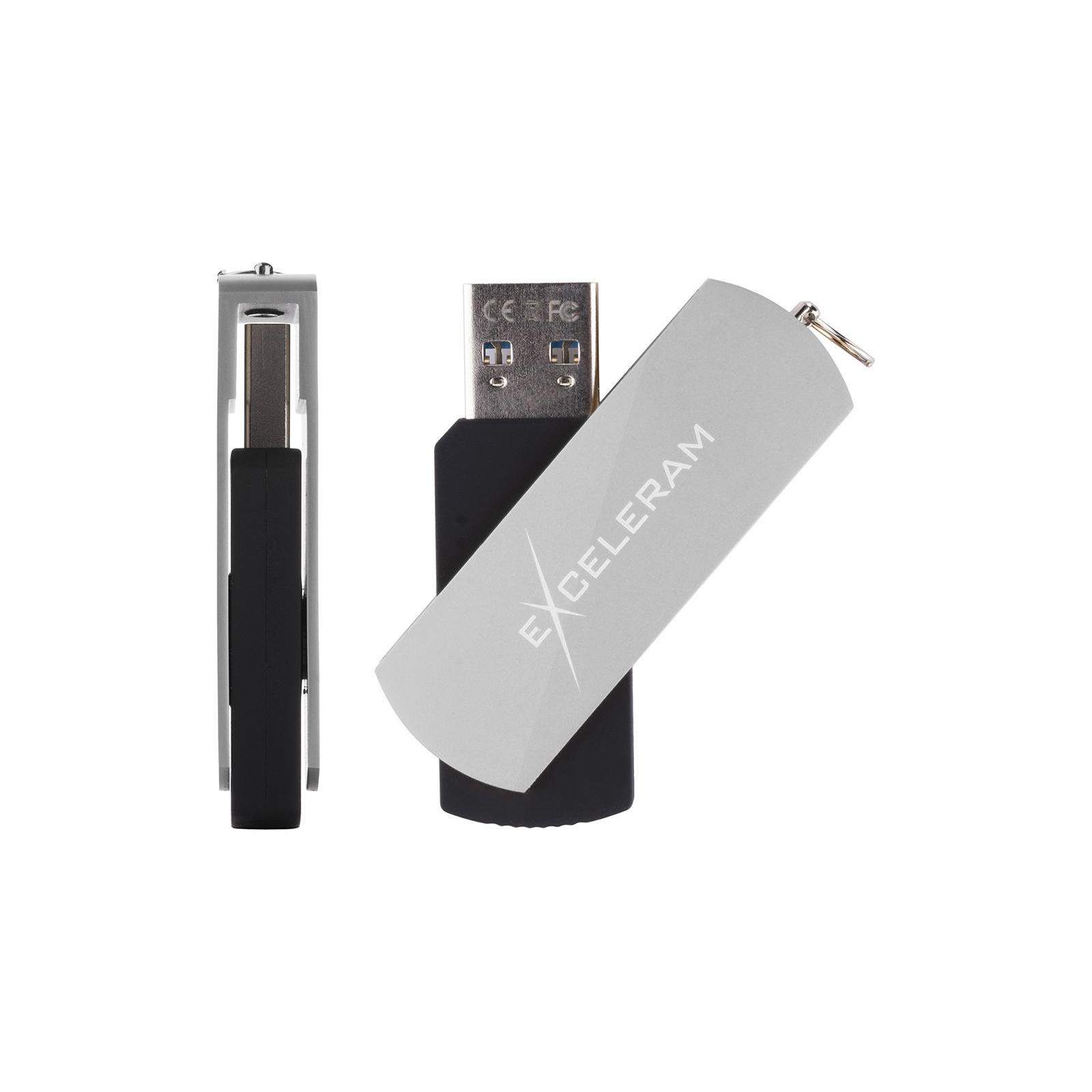 USB флеш накопитель eXceleram 128GB P2 Series Red/Black USB 3.1 Gen 1 (EXP2U3REB128) изображение 4