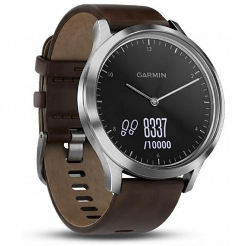 Смарт-часы Garmin Vivomove HR Premium Black/ Silver Large (010-01850-A4) изображение 3