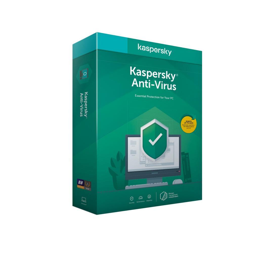 Антивирус Kaspersky Anti-Virus 2020 2 ПК 1 год Base Box (DVD-Box /No Disc) (5056244903237) изображение 2