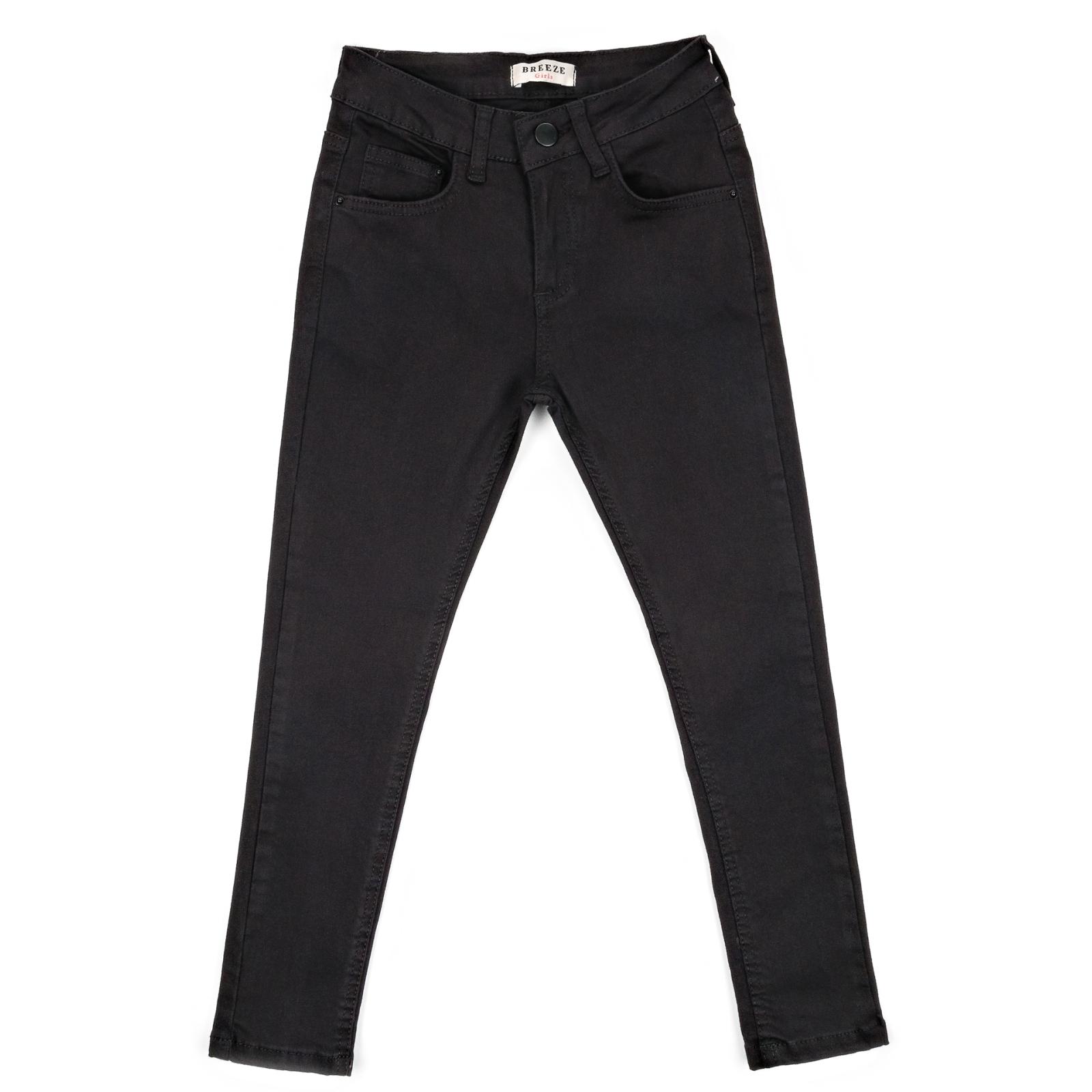 Штаны детские Breeze джинсовые зауженные (13212-146G-black)