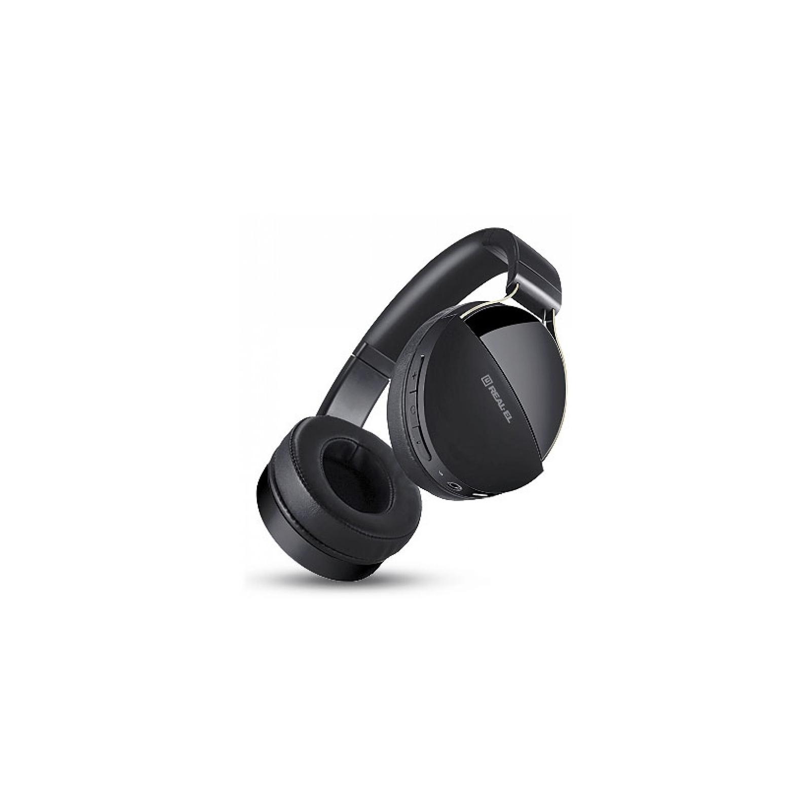 Навушники REAL-EL GD-880 Black зображення 7