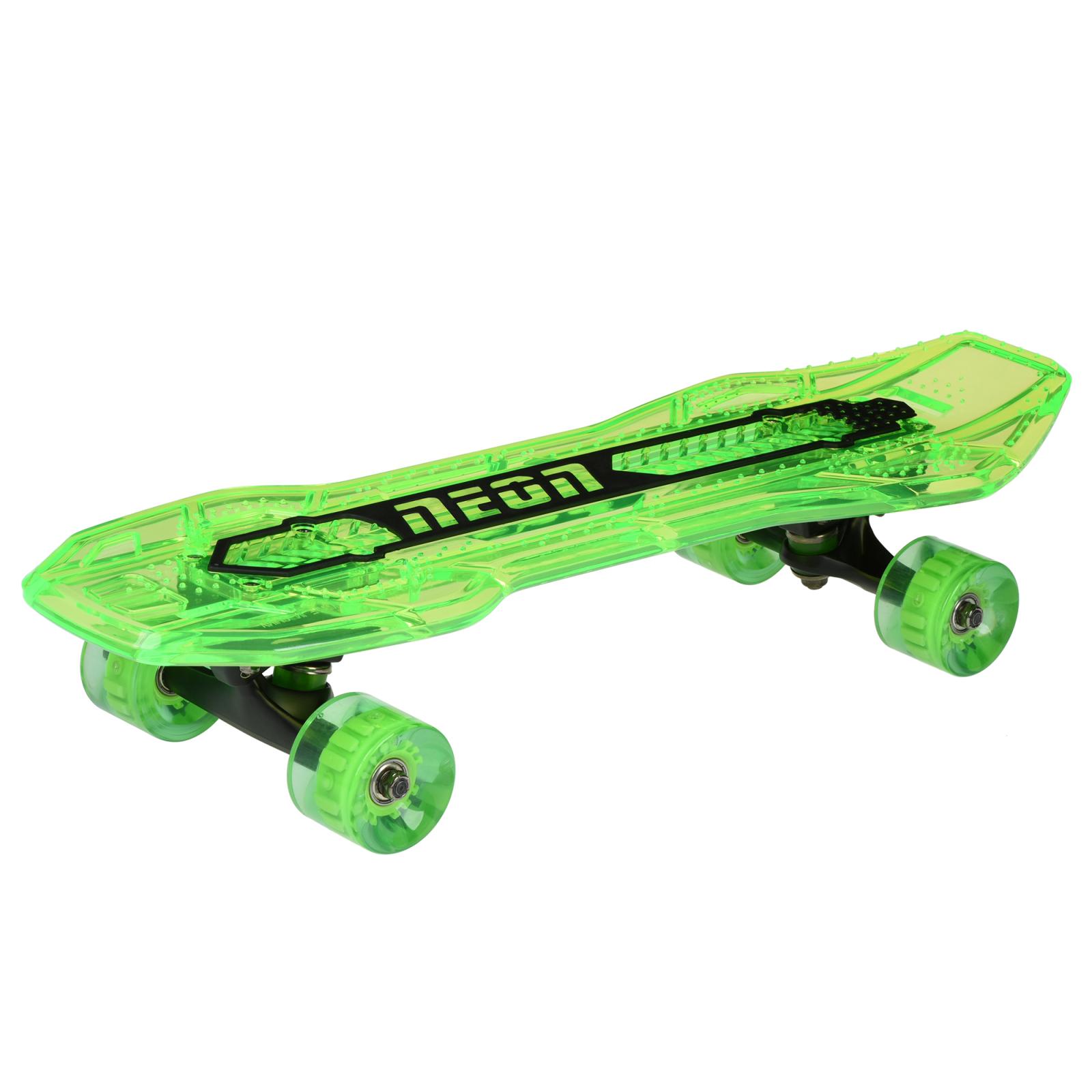 Скейтборд дитячий NEON Cruzer Зелений (N100792)