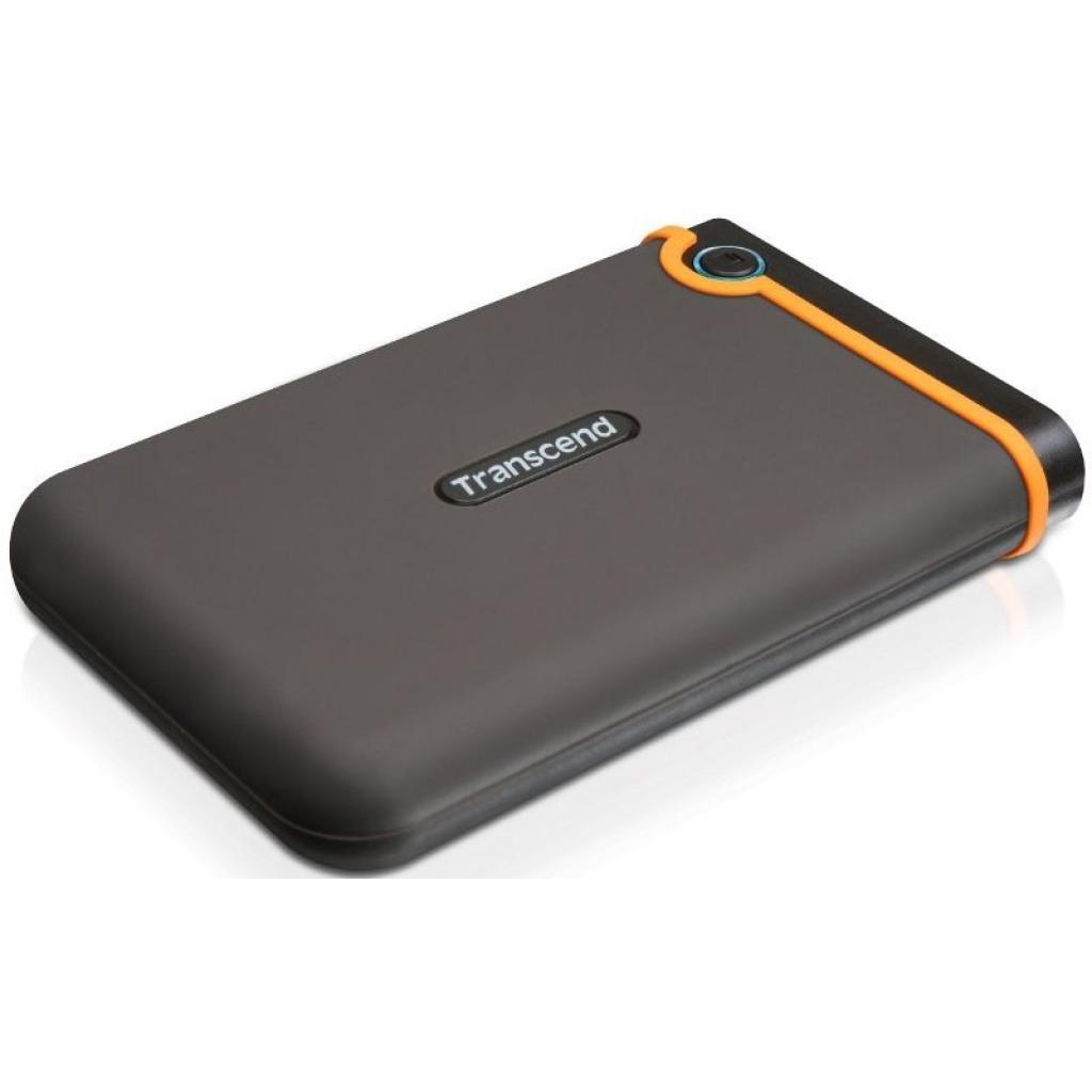 """Внешний жесткий диск 2.5"""" 500GB Transcend (TS500GSJ25M2) изображение 2"""