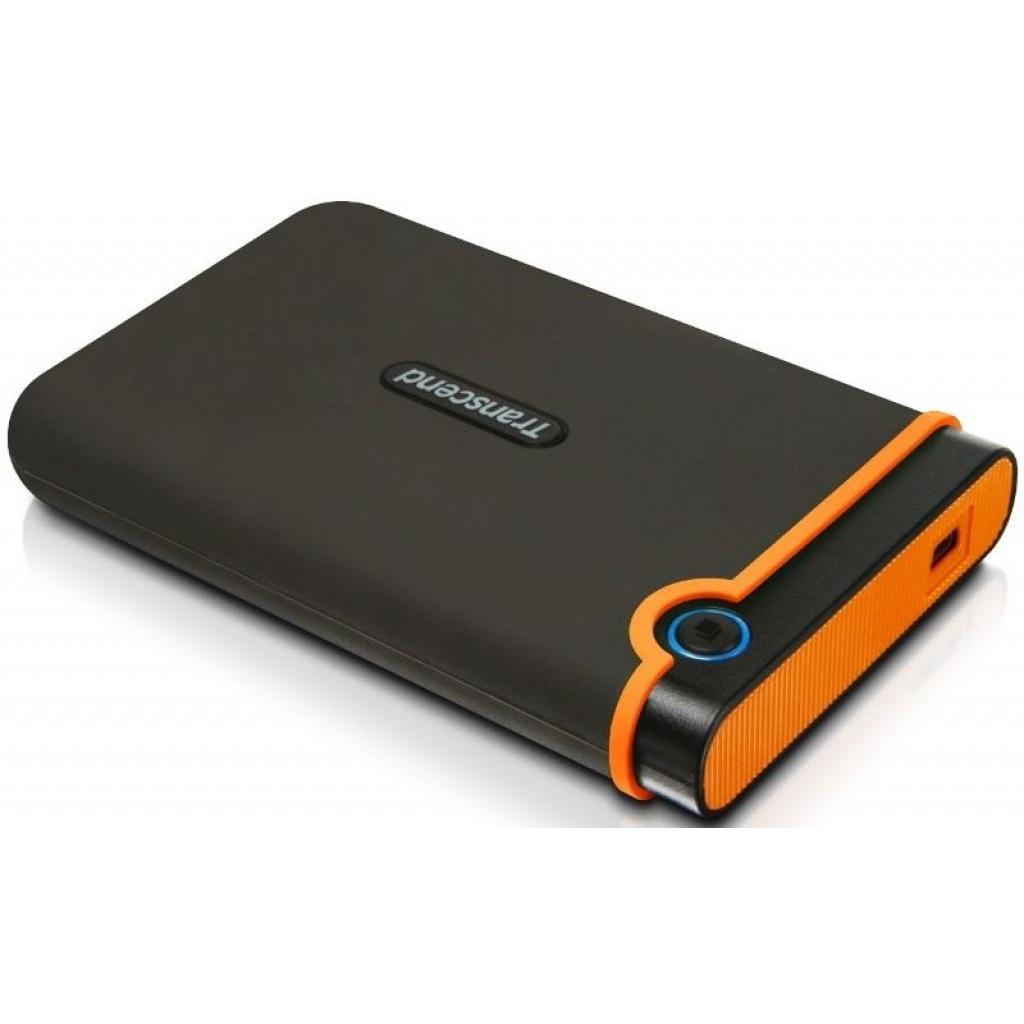 """Внешний жесткий диск 2.5"""" 500GB Transcend (TS500GSJ25M2) изображение 3"""